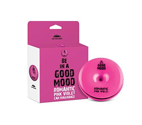 Be in a Good Mood Auto profumi - Oli Essenziali - diffusore di sfiato - eliminare Gli odori sgradevoli (Violette Rosa)