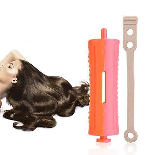 Bigodini per capelli con fascia in gomma, bastoni ondulati standard per parrucchiere fai da te, per ragazze e donne