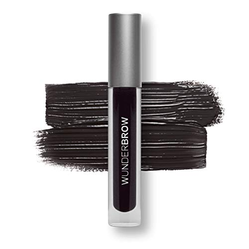 WUNDER2 WUNDERBROW, Gel per Sopracciglia Waterproof a Lunga Durata, Colore Jet Black