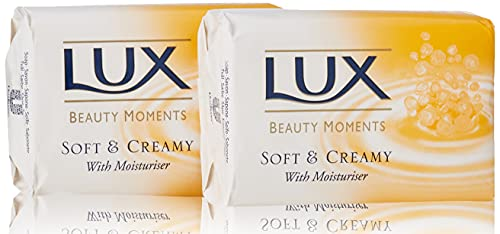 Lux Beauty Moments Sapone con Effetto Idratante, 2 x 125g