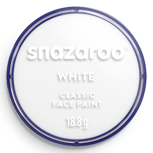 Snazaroo, Colore Per Viso, Bianco, 18.8 g