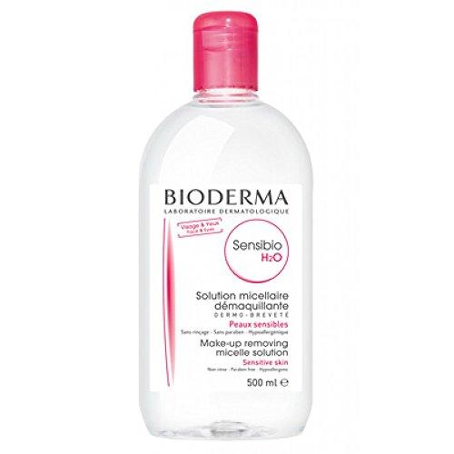 Bioderma Sensibio Acqua Micellare, Confezione da 2 Flaconi - 219 ml