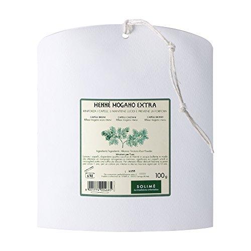 Hennè mogano senza picramato extra 100 g - Prodotto erboristico made in Italy