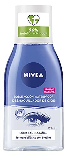 Nivea Struccante, Visage Double Acction Eye Makeup Remover, 125 ml