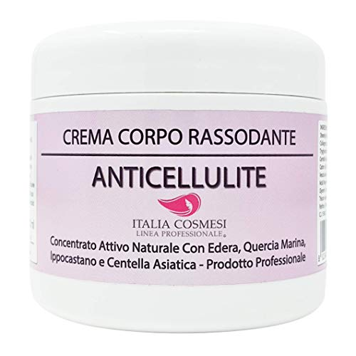 Crema Corpo Anticellulite Rassodante Professionale Concentrato Attivo Naturale Profumazione Sensuale da 500 Ml Lunga Durata