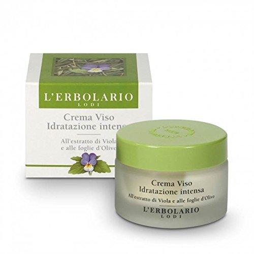 L'Erbolario - Crema Viso idratazione intensa all'estratto di viola e alle foglie d'Olivo - 50 ml
