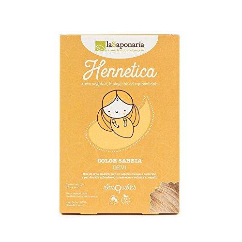 Tinta Vegetale Hennetica Sabbia La Saponaria