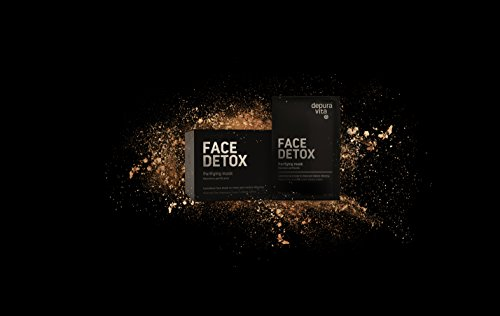 Face Detox - Charcol, Saffron, Tumeric (Face Detox - Purifying Mask - 10 Single Treatments)