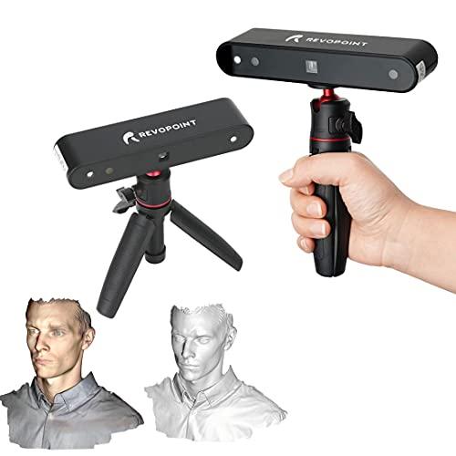 Revopoint POP 3D precisione scanner 0,3 millimetri 8 fps desktop e scanner portatile con modalità di scansione viso e corpo per la stampa 3D a colori