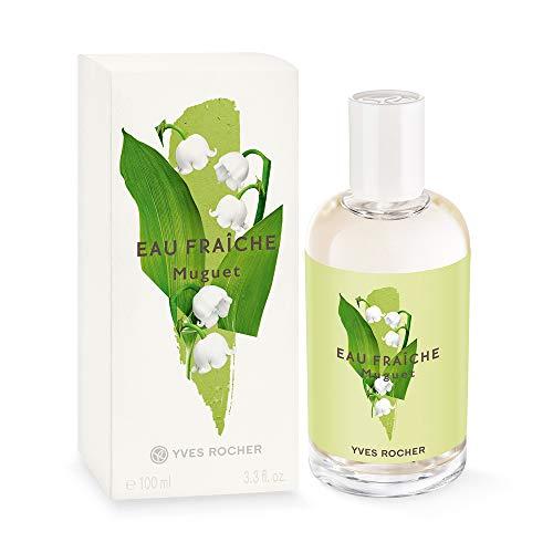 Yves Rocher LA COLLECTION Eau Fraîche Mughetto, spray rinfrescante per il corpo per donne e ragazze, 1 nebulizzatore da 100 ml