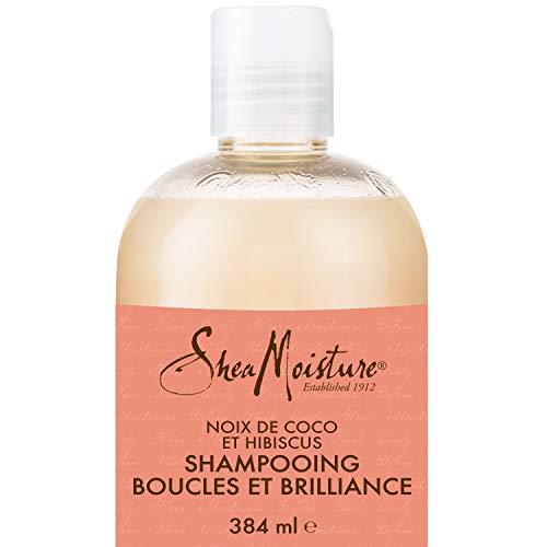 Shea Moisture, Shampoo per capelli ricci e lucenti con olio di cocco e ibisco, 379 ml