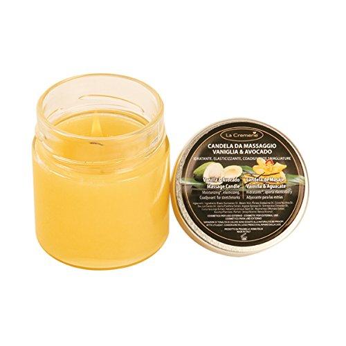 Candela da massaggio Vaniglia & Avocado - La Cremerie - 200,0 ml
