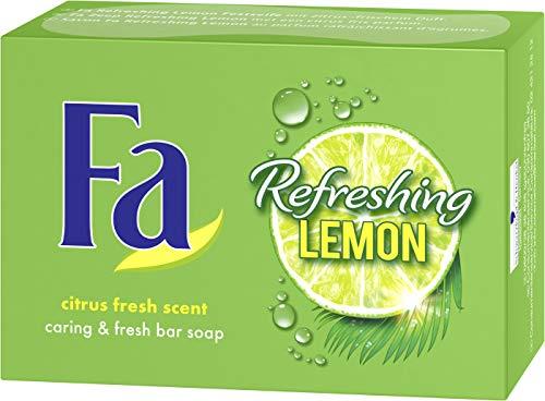 FA Refreshing Lemon Fest Sapone, Confezione da (3X 100G)