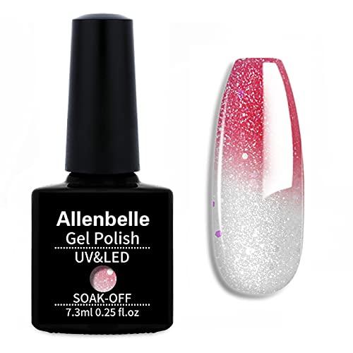 Allenbelle Smalto Semipermanente Camaleonte Nail Polish UV LED Gel Unghie 7.3ml 5756