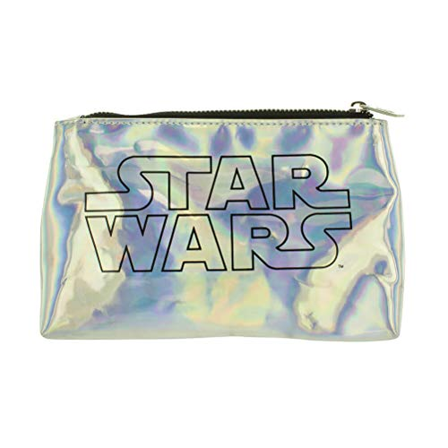 Star Wars - Borsa da bagno, 12 cm, multicolore