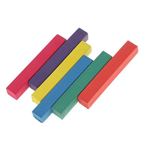 harayaa Colori Temporanei Facili E Rapidi Macchie per Capelli Tinte per Capelli Pastelli - 6 colori, 9,8 x 8,8 centimetri