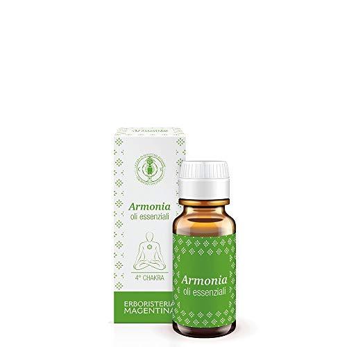 Erboristeria Magentina - Essenza Armonia 10ml - Oli Essenziali per Diffusori Ambientali