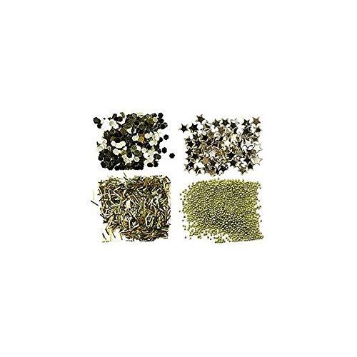 Peggy Sage - Mini kit paillette per unghie -or
