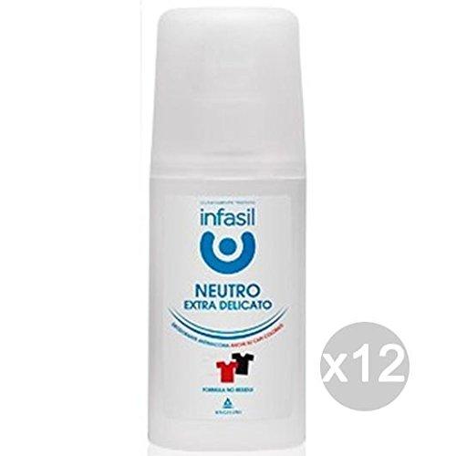 Set 12 INFASIL Deodorante Spray 70Ml Extra Delicato Cura E Igiene Del Corpo