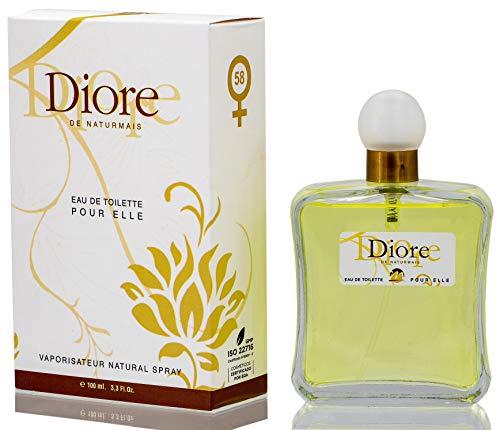 Diore Eau De Parfum Intense 100 ml. Compatibile con J'adore, Profumo Equivalente Donna