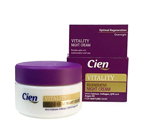 Cien - Vital crema da notte rigenerante, Regenerative Night Cream (etichetta in lingua italiana non garantita)