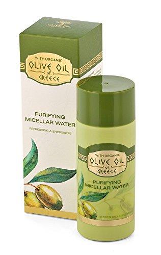 Acqua micellare purificante con estratto di Sapone, Creatina e Olio d'Oliva della Grecia 150 ml