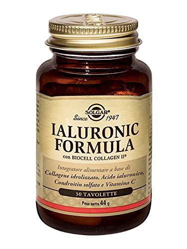 Solgar Hyaluronic Acid - 120 mg, - 30 Compresse