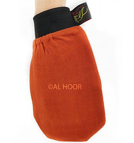 Guanto esfoliante Kessa in stile marocchino, per il corpo, prima qualità, per pelle morta
