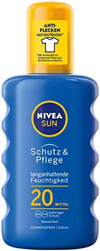 Nivea Sun, Spray solare protettivo SPF20, 1 x 200 ml