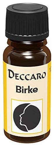 DECCARO Olio aromatico'Betulla', 10 ml (olio profumato)