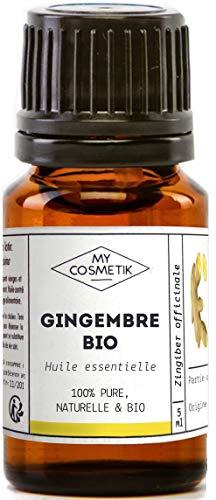 Olio essenziale di zenzero Organico - MyCosmetik - 10 ml