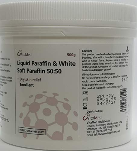 Vitamed - Paraffina liquida e crema di paraffina morbida bianca
