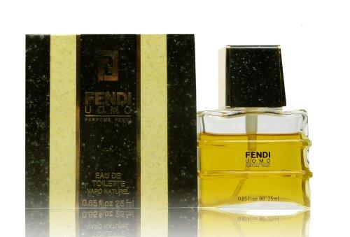 Fendi UOMO 25 ml EDT Eau de Toilette Spray in confezione originale