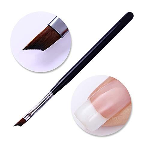 Gel UV Pennello Liner Penna Disegno Acrilico Pennello Per Unghie Gradiente Strass Maniglia Manicure Nail Art Strumento 11
