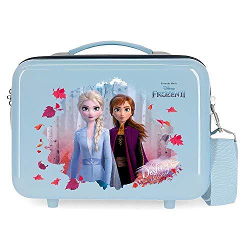 Disney Frozen In the Woods Beauty case adattabile blu 29 x 21 x 15 cm rigido ABS 9,14 l 0,84 kg