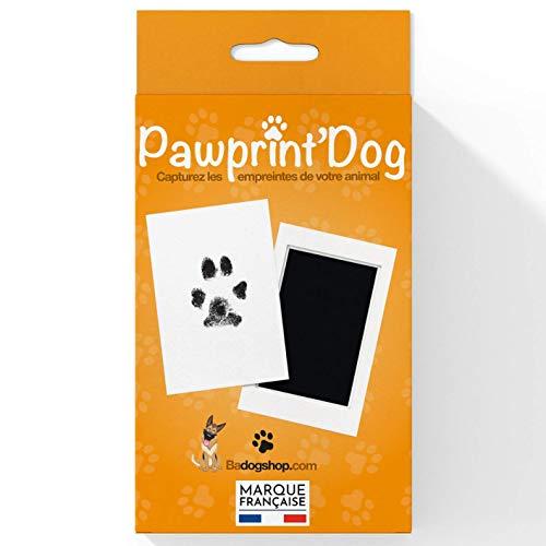 Badogshop.com - Kit per impronte di cane e gatto, per conservare un ricordo, realizzare un tatuaggio o una cornice, Misura grande, Dimensioni: 12,5 x 8 cm