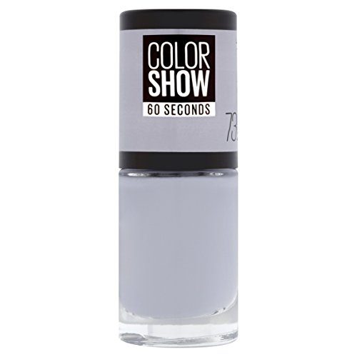 Maybelline New York Color Show Smalto Asciugatura Rapida, 73 City Smoke