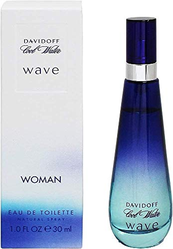 Davidoff, Cool Water Wave, Eau de Toilette spray da donna, 30 ml