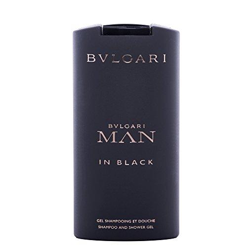Bvlgari Man in Black Gel Doccia, Uomo, 200 ml
