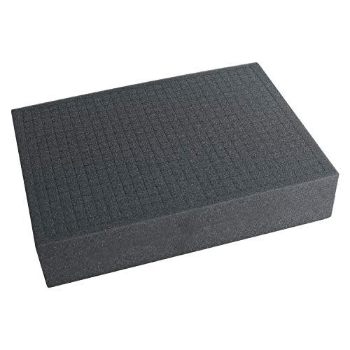 HMF 1451-90 Schiuma Raster, Gomma Piuma, Cubo, 440 x 320 mm, Tabletop, Altezza: 90 mm