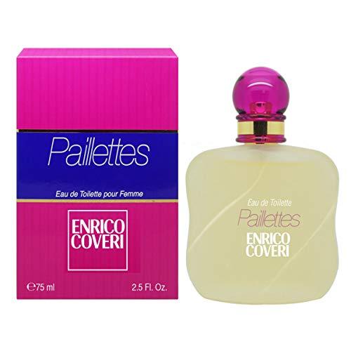 ENRICO COVERI PAILLETTE • Eau de Parfum 75 ml • Profumo donna • Spray • Per Lei • EVAFLORPARIS