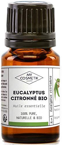 Olio essenziale di eucalipto citrato Organico - MyCosmetik - 10 ml
