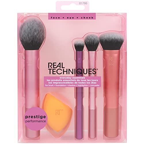 Real Techniques Set di Pennelli Everyday Essentials
