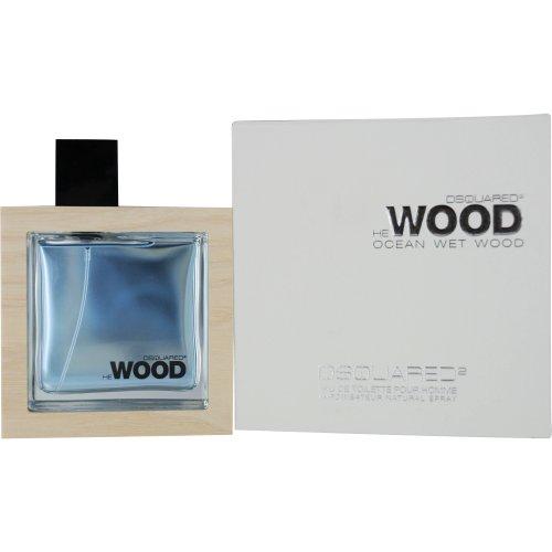 Dsquared2 Ocean Wet Wood Eau de Toilette, Uomo, 50 ml