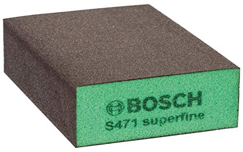 Bosch 2608608228 - Spugna abrasiva, modello: Best for Flat and Edge, 68 x 97 x 27 mm