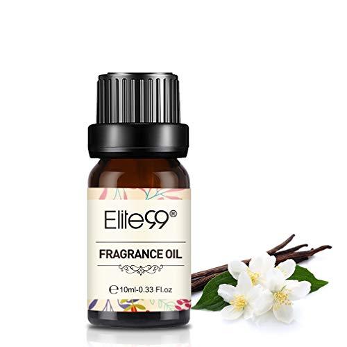 Elite99 Olio Fragranza di Vaniglia Olio di Profumo 100% Puro Naturale Aromaterapia 10Ml - Vanilla