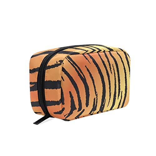 Beauty case Tiger Skin Print make up astuccio con cerniera