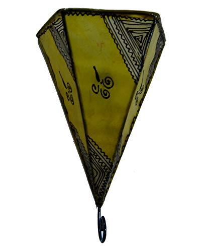 Applique Lampada Pelle Henne Araba Marocco Marocchina Etnico Chic 2506191619