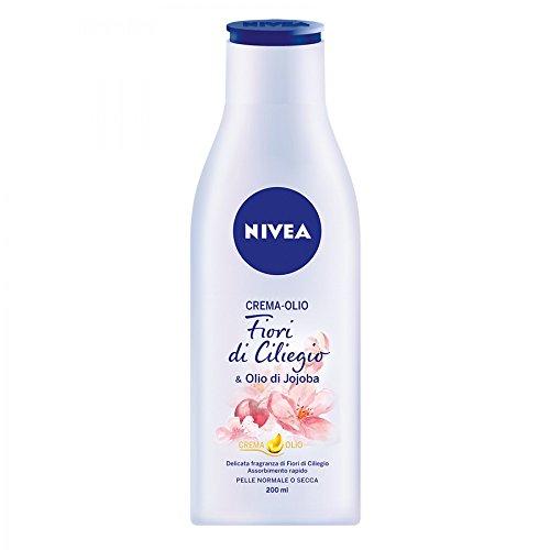 Nivea Crema-Olio Fiori di Ciliegio & Olio di Jojoba 200 ml
