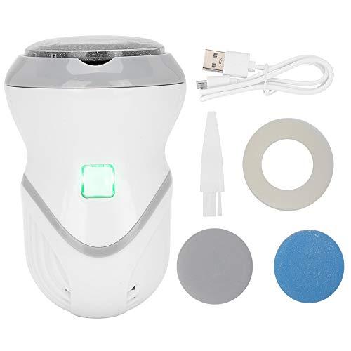 Kit di rimozione del callo del piede elettrico, smerigliatrice elettronica del piede USB pedicure esfoliante per piedi morbidi e lisci, strumenti per la cura dei piedi per pelle secca e screpolata